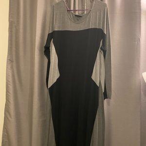 EUC maxi dress